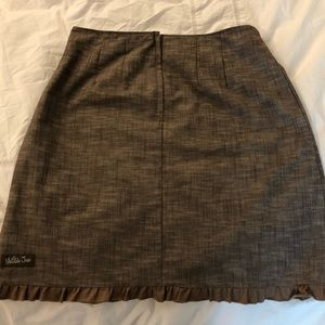 Matilda Jane Skirts - Matilda Jane Hammond Bay Beth  Linen Skirt NWOT